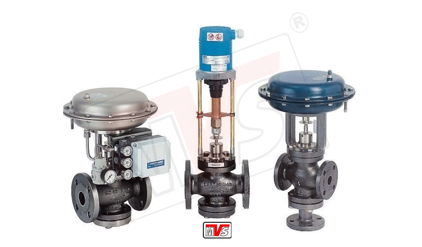 Globe Control Valve Operated By Diaphragm Cylinder Or