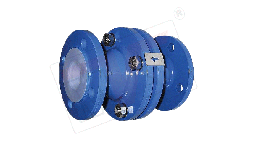 Lined Ball Check Valve Or Ball Type Non Return Valve Ptfe