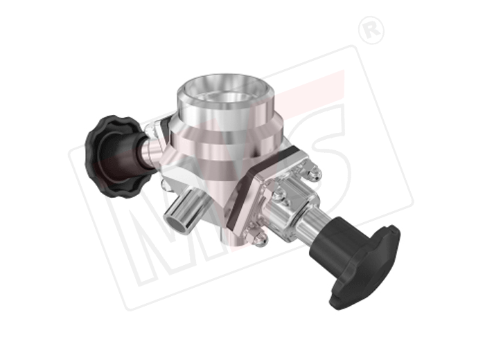 Manual sanitary diaphragm valve two way and multiport weld clamp optimum security against microbial growth ccuart Gallery