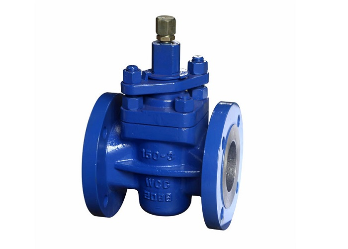 Lubricated Plug Valve Flanged Standard Type In Size 15mm