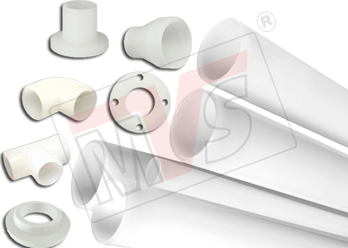 Plastic Pipe Fittings and Plastic Pipes in Polypropylene, HDPE and PVDF